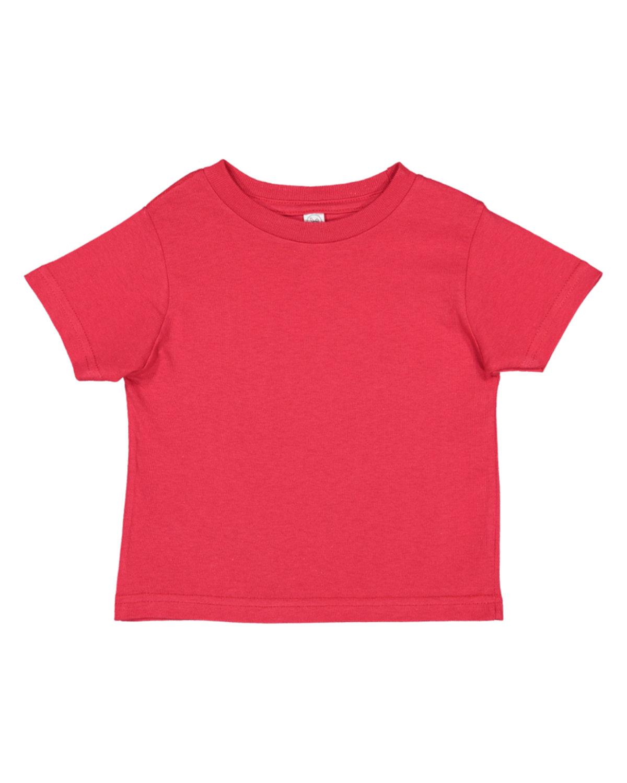 Rabbit Skins Infant Fine Jersey T-Shirt RED