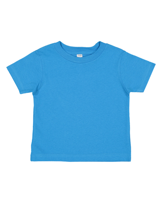 Rabbit Skins Infant Fine Jersey T-Shirt COBALT