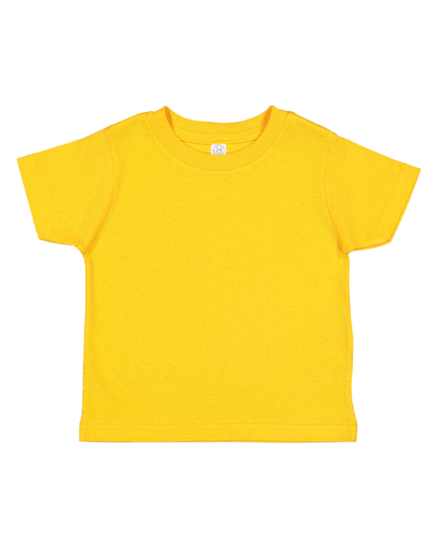 Rabbit Skins Infant Fine Jersey T-Shirt GOLD