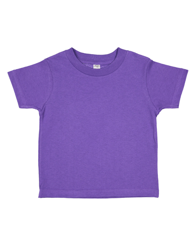 Rabbit Skins Infant Fine Jersey T-Shirt PURPLE