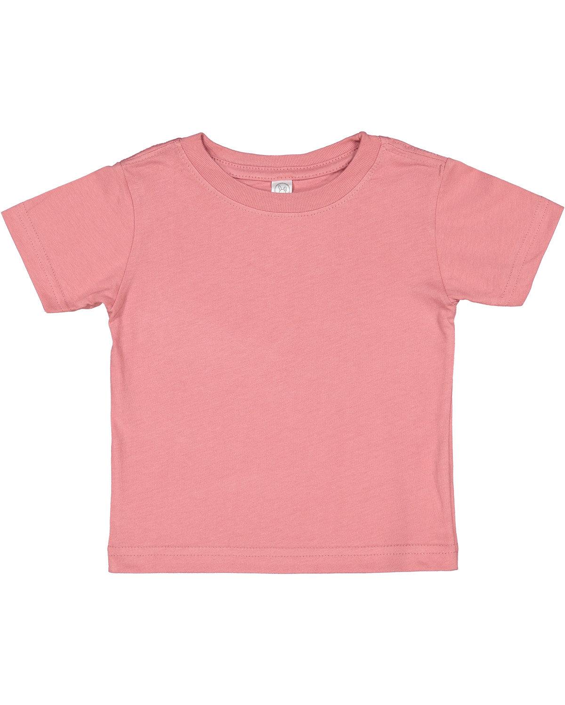 Rabbit Skins Infant Fine Jersey T-Shirt MAUVELOUS