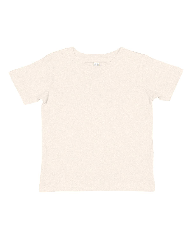 Rabbit Skins Infant Fine Jersey T-Shirt NATURAL HEATHER