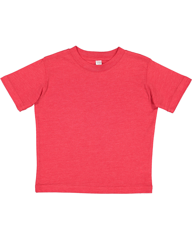 Rabbit Skins Infant Fine Jersey T-Shirt VINTAGE RED