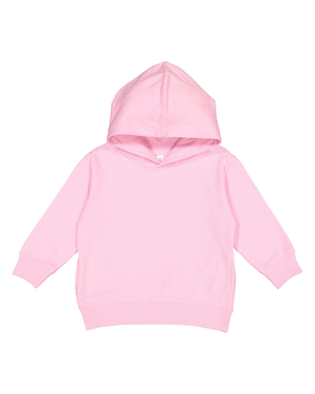 Rabbit Skins Toddler Pullover Fleece Hoodie PINK