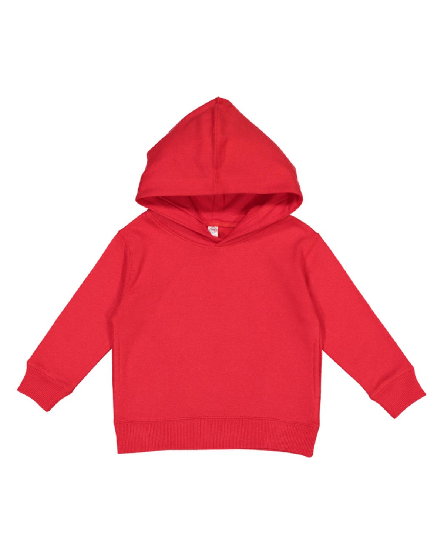 Rabbit Skins Toddler Pullover Fleece Hoodie RED