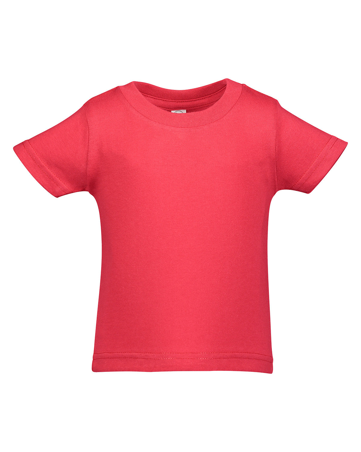 Rabbit Skins Infant Cotton Jersey T-Shirt RED
