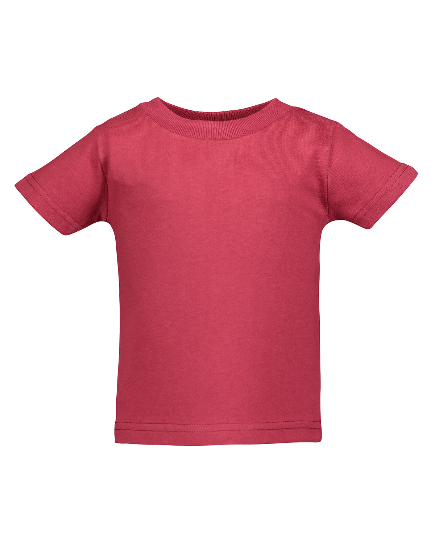 Rabbit Skins Infant Cotton Jersey T-Shirt GARNET