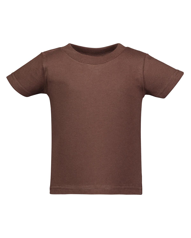 Rabbit Skins Infant Cotton Jersey T-Shirt BROWN