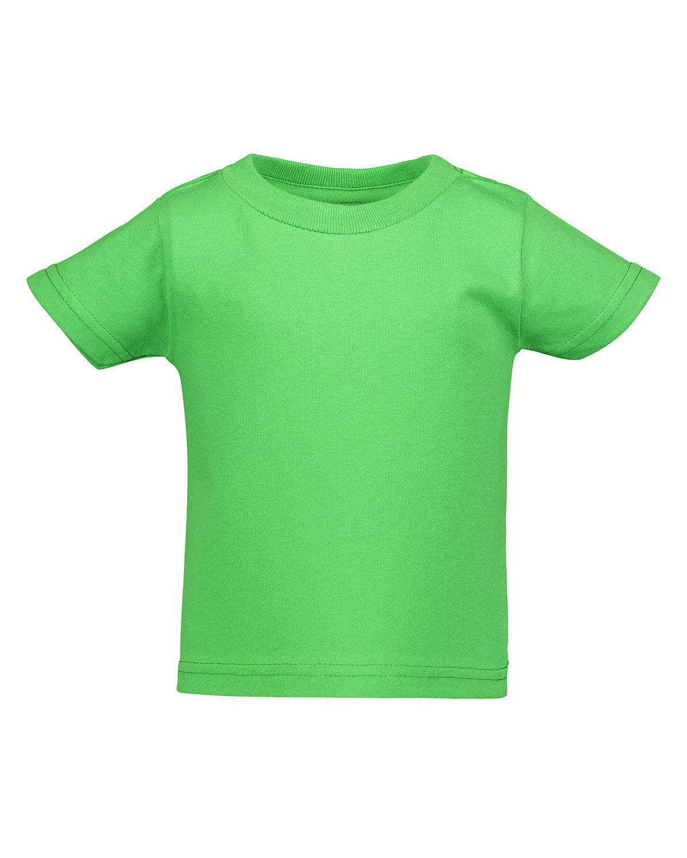 Rabbit Skins Infant Cotton Jersey T-Shirt APPLE