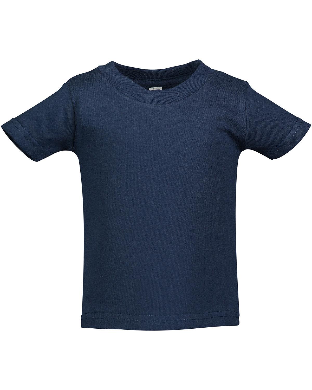Rabbit Skins Infant Cotton Jersey T-Shirt NAVY