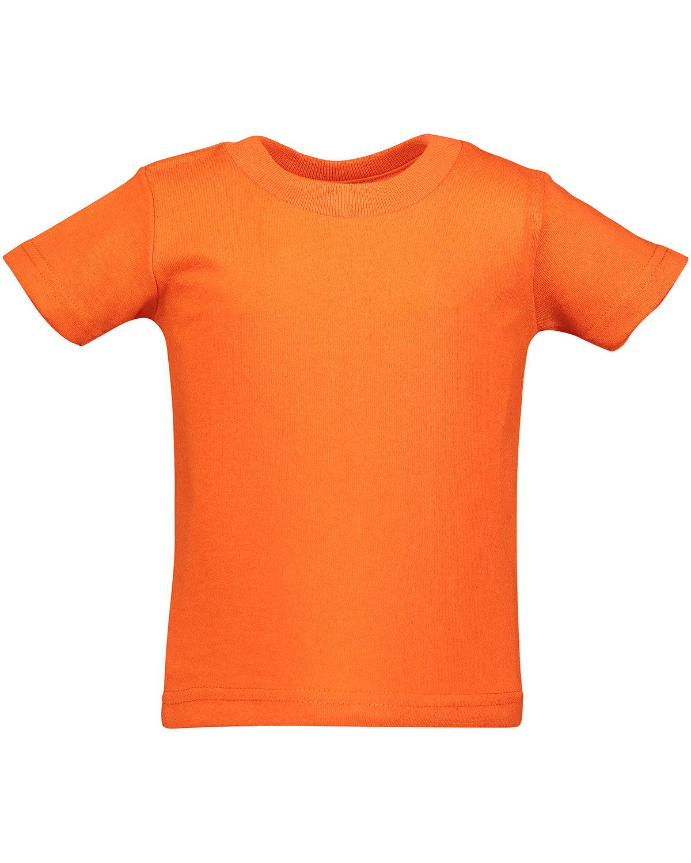 Rabbit Skins Infant Cotton Jersey T-Shirt ORANGE