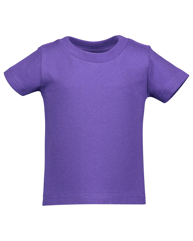 Rabbit Skins Infant Cotton Jersey T-Shirt PURPLE