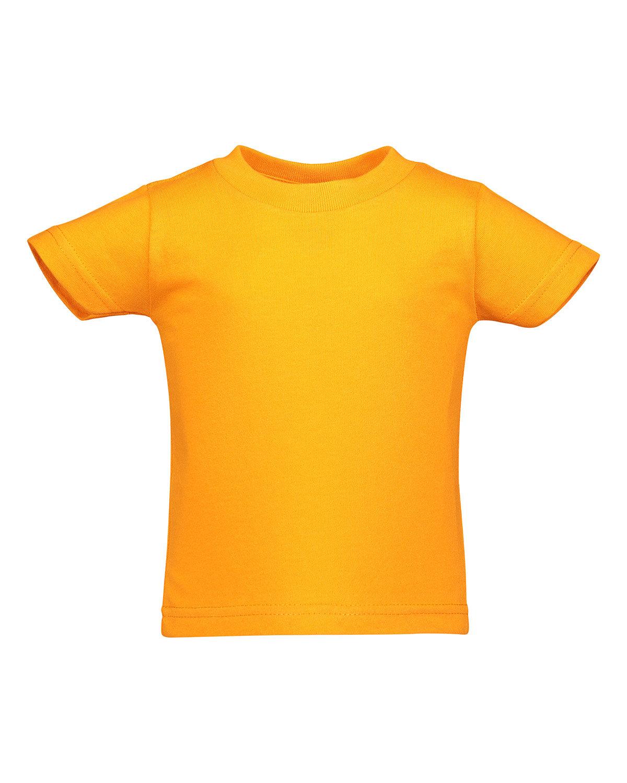Rabbit Skins Infant Cotton Jersey T-Shirt MANDARIN