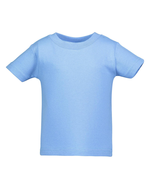 Rabbit Skins Infant Cotton Jersey T-Shirt CAROLINA BLUE