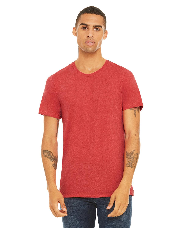Bella + Canvas Unisex Triblend T-Shirt RED TRIBLEND