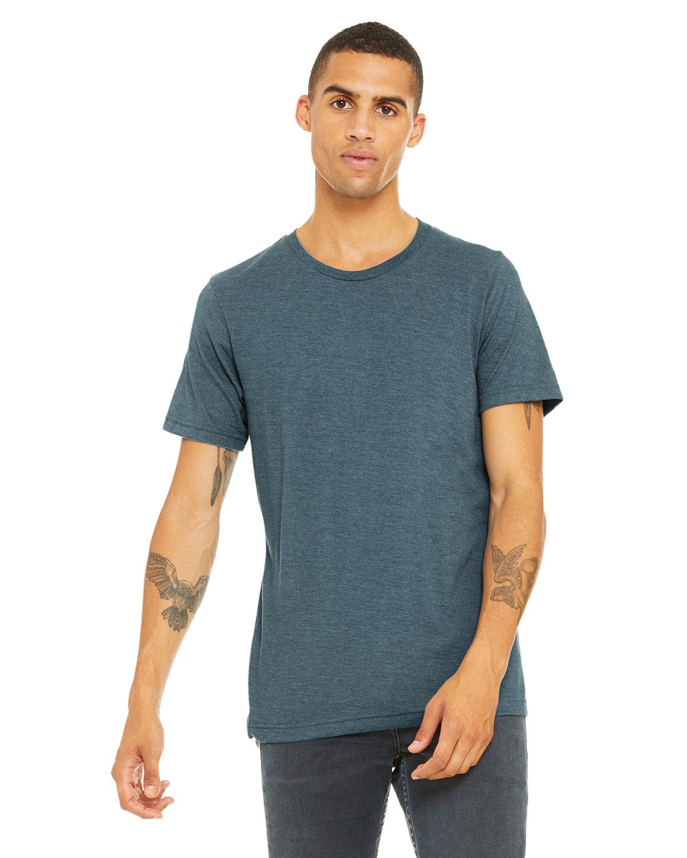 Bella + Canvas Unisex Triblend T-Shirt STEEL BLU TRBLND