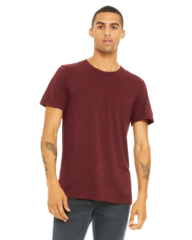 Bella + Canvas Unisex Triblend T-Shirt CARDINAL TRBLND