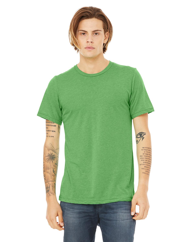 Bella + Canvas Unisex Triblend T-Shirt GREEN TRIBLEND