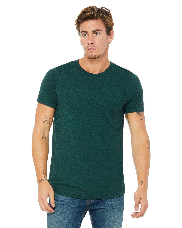 Bella + Canvas Unisex Triblend T-Shirt EMERALD TRIBLEND