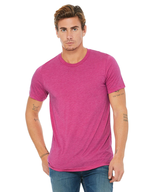 Bella + Canvas Unisex Triblend T-Shirt BERRY TRIBLEND
