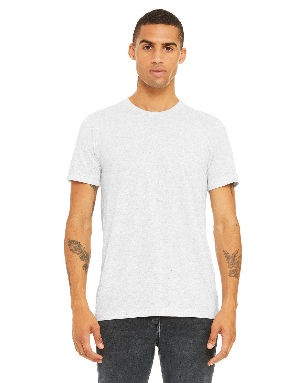Bella + Canvas Unisex Triblend T-Shirt WHT FLCK TRBLND