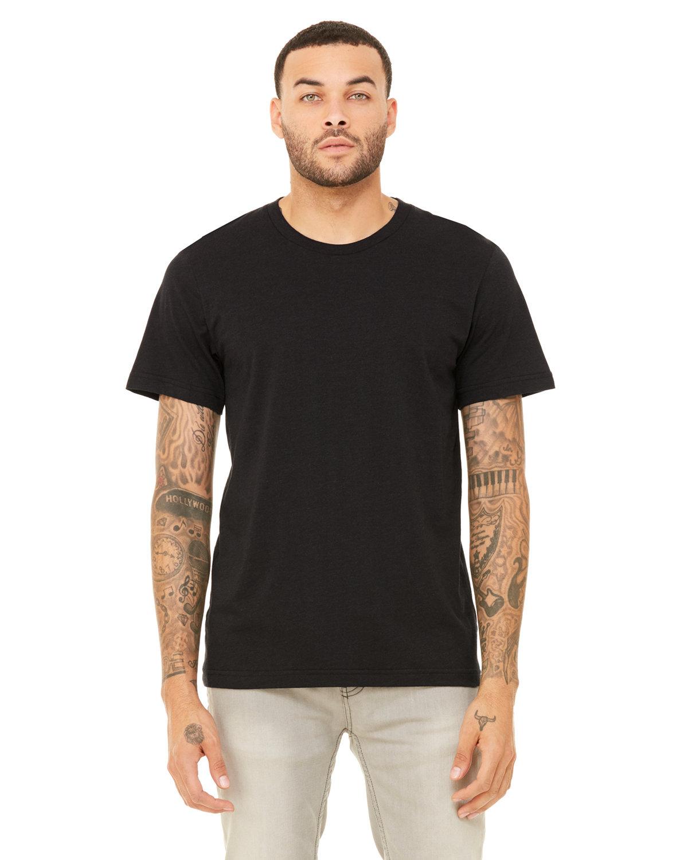 Bella + Canvas Unisex Triblend T-Shirt BLK HTHR TRIBLND