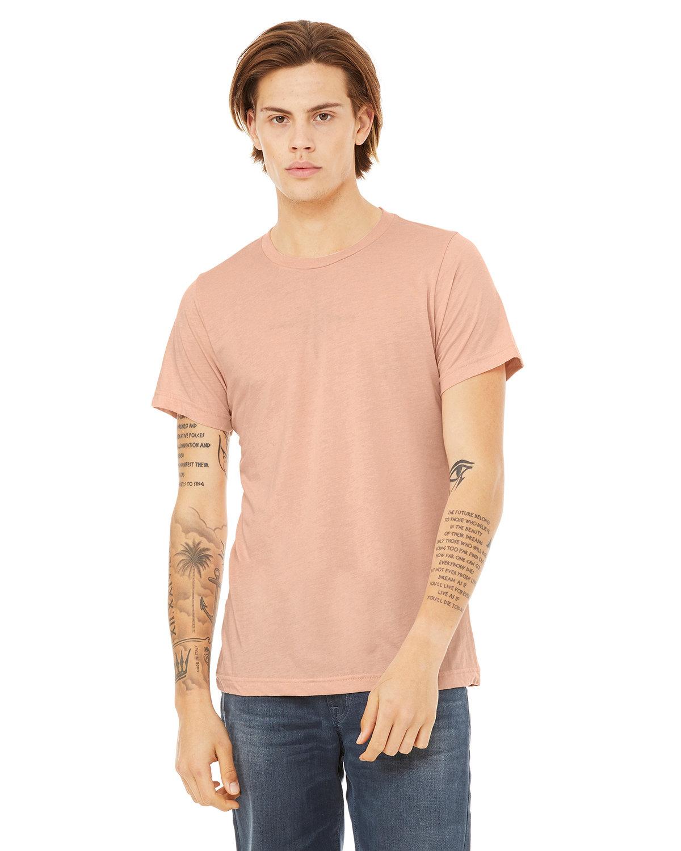 Bella + Canvas Unisex Triblend T-Shirt PEACH TRIBLEND