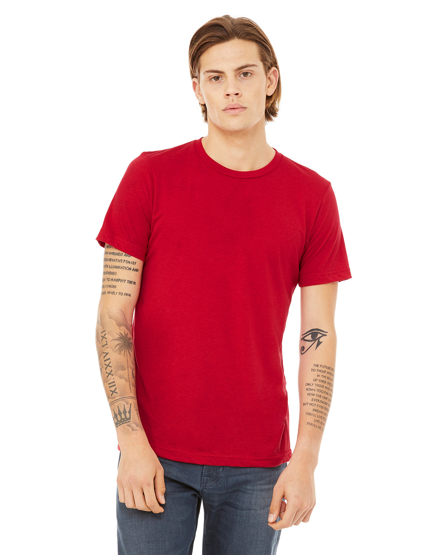 Bella + Canvas Unisex Triblend T-Shirt SOLID RED TRIBLN