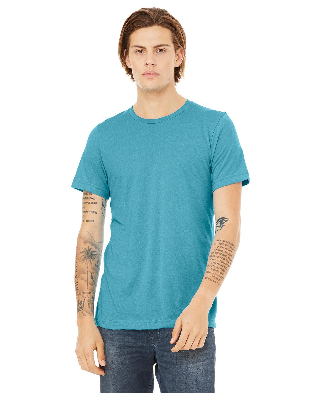 Bella + Canvas Unisex Triblend T-Shirt AQUA TRIBLEND