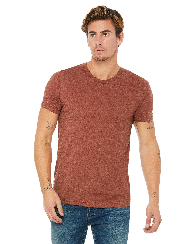 Bella + Canvas Unisex Triblend T-Shirt CLAY TRIBLEND
