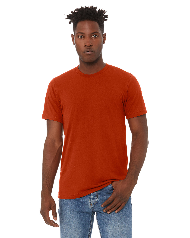 Bella + Canvas Unisex Triblend T-Shirt BRICK TRIBLEND