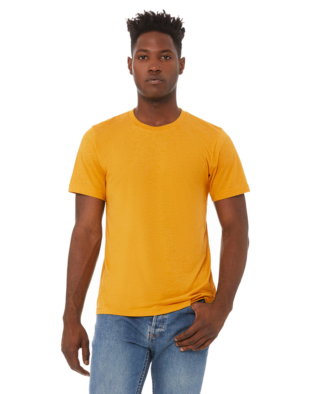 Bella + Canvas Unisex Triblend T-Shirt MUSTARD TRIBLEND