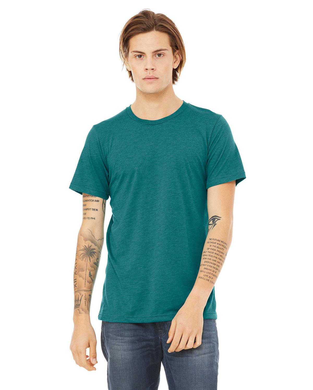 Bella + Canvas Unisex Triblend T-Shirt TEAL TRIBLEND
