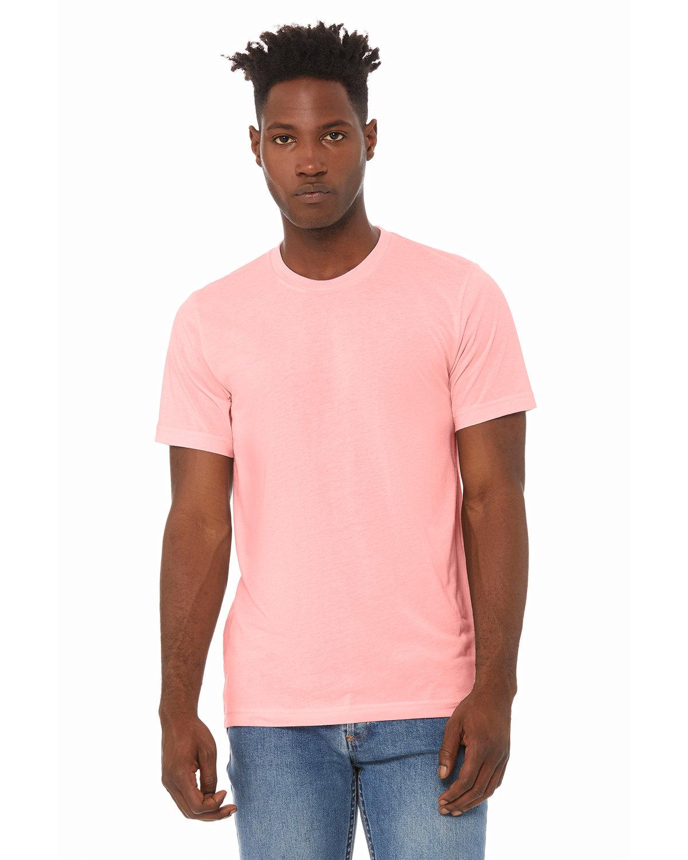 Bella + Canvas Unisex Triblend T-Shirt PINK TRIBLEND