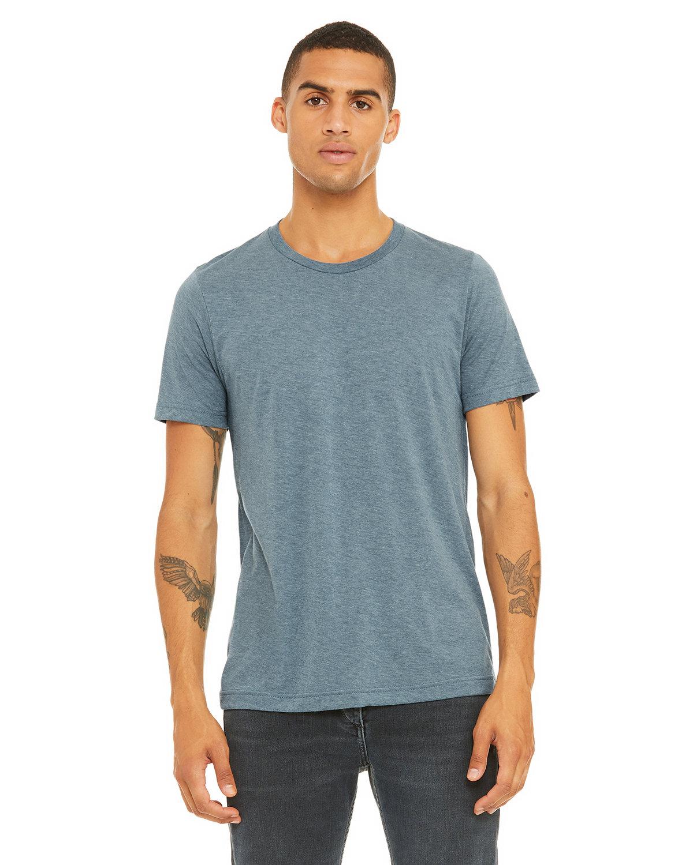 Bella + Canvas Unisex Triblend T-Shirt DENIM TRIBLEND