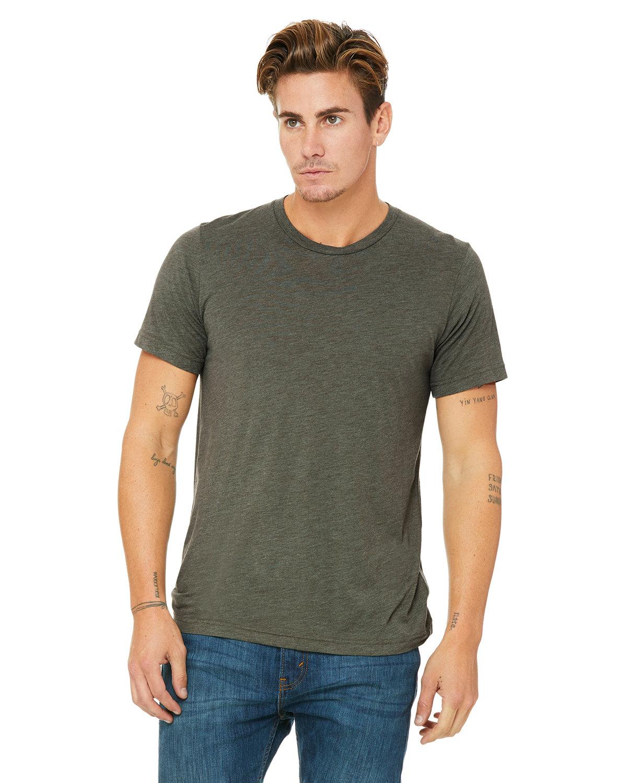 Bella + Canvas Unisex Triblend T-Shirt MLTRY GRN TRBLND
