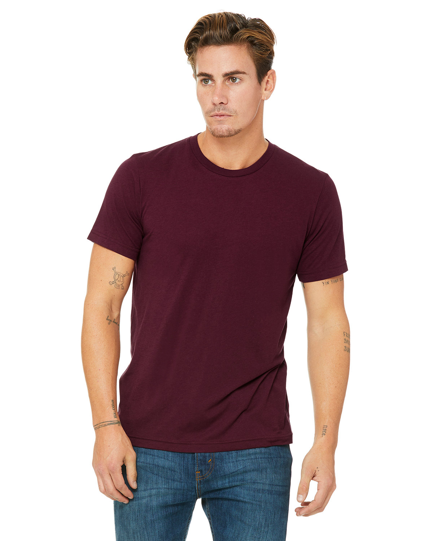 Bella + Canvas Unisex Triblend T-Shirt SOLID MRN TRBLND