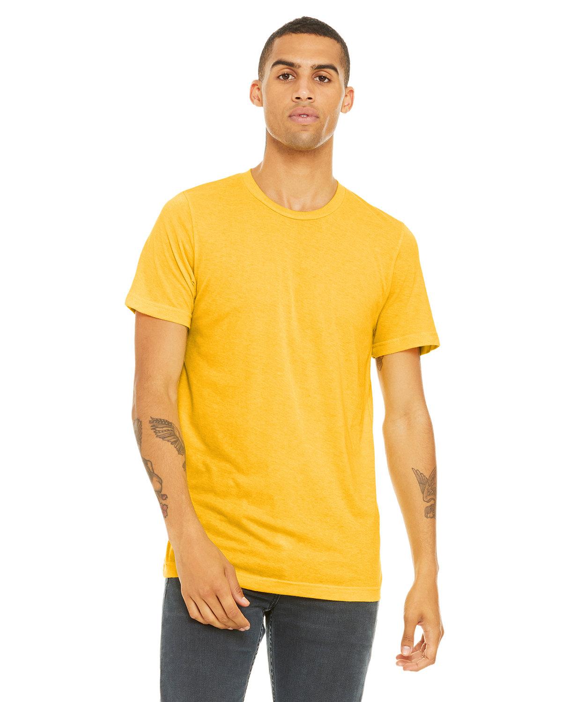 Bella + Canvas Unisex Triblend T-Shirt YLLW GLD TRBLND