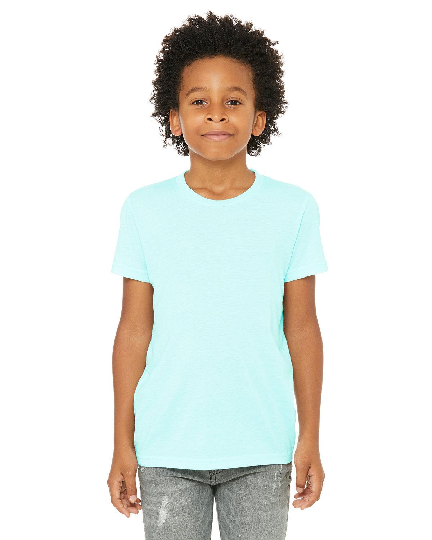 Bella + Canvas Youth Triblend Short-Sleeve T-Shirt ICE BLUE TRBLND