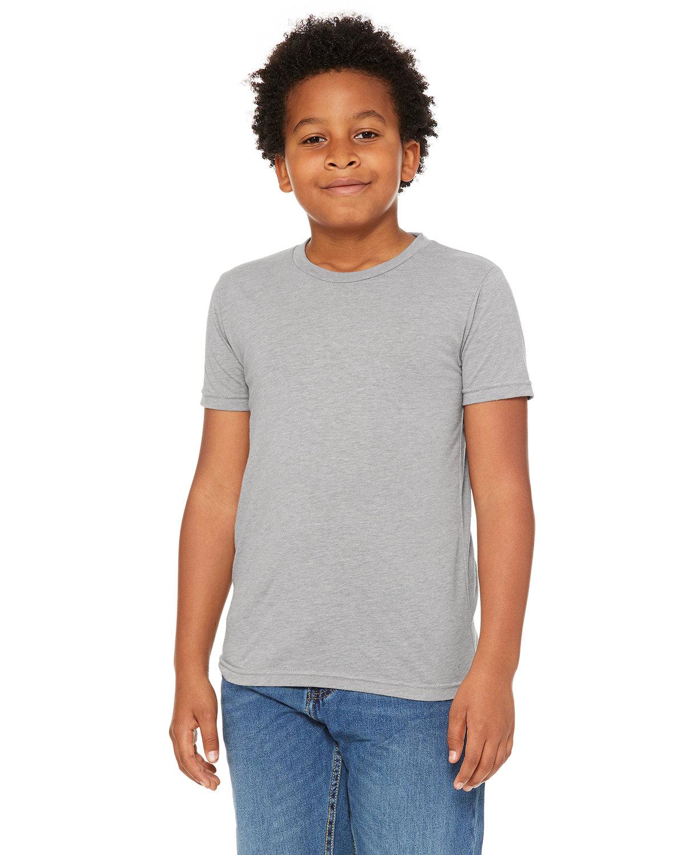 Bella + Canvas Youth Triblend Short-Sleeve T-Shirt ATH GREY TRIBLND