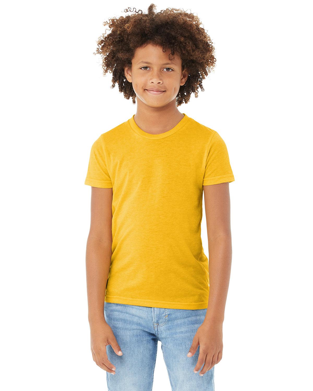 Bella + Canvas Youth Triblend Short-Sleeve T-Shirt YLW GOLD TRBLND