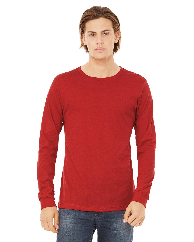 Bella + Canvas Unisex Jersey Long-Sleeve T-Shirt RED