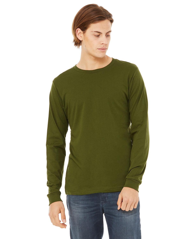Bella + Canvas Unisex Jersey Long-Sleeve T-Shirt OLIVE