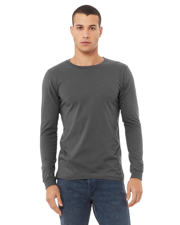 Bella + Canvas Unisex Jersey Long-Sleeve T-Shirt ASPHALT