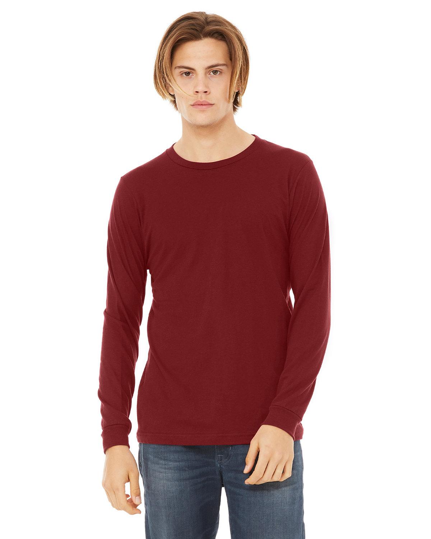Bella + Canvas Unisex Jersey Long-Sleeve T-Shirt CARDINAL