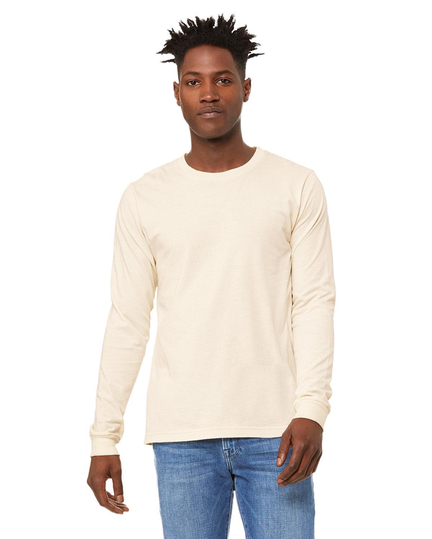 Bella + Canvas Unisex Jersey Long-Sleeve T-Shirt NATURAL