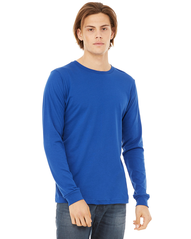 Bella + Canvas Unisex Jersey Long-Sleeve T-Shirt TRUE ROYAL