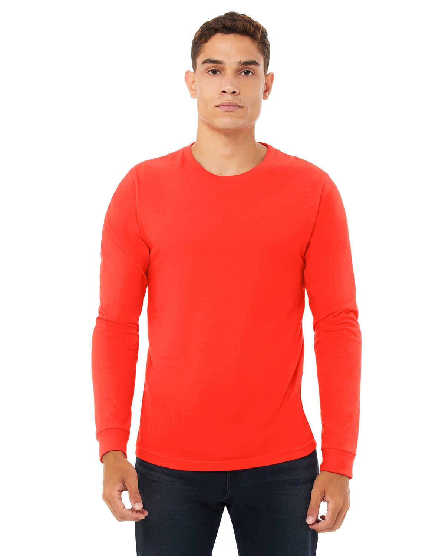 Bella + Canvas Unisex Jersey Long-Sleeve T-Shirt POPPY