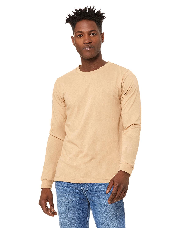 Bella + Canvas Unisex Jersey Long-Sleeve T-Shirt SAND DUNE