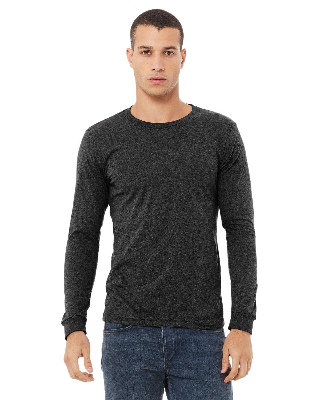 Bella + Canvas Unisex Jersey Long-Sleeve T-Shirt DRK GREY HEATHER